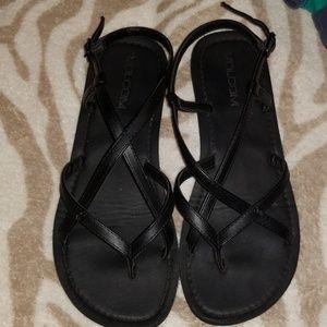 NWOT  Brand new Volcom multi strap black sandals